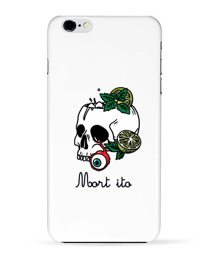 Case 3D iPhone 6+ Mort ito de tattooanshort