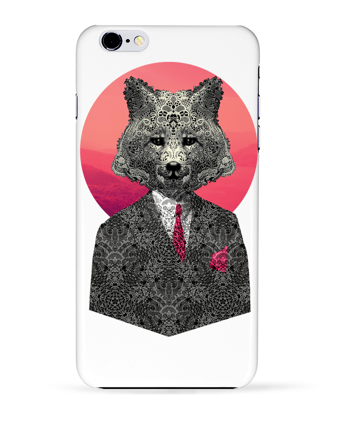 Case 3D iPhone 6+ Very Important Fox de ali_gulec