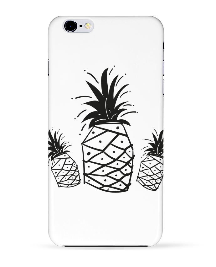Case 3D iPhone 6+ CRAZY PINEAPPLE de IDÉ