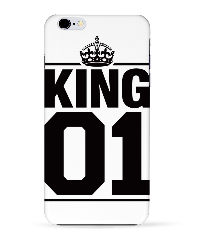 Case 3D iPhone 6+ King 01 de Freeyourshirt.com
