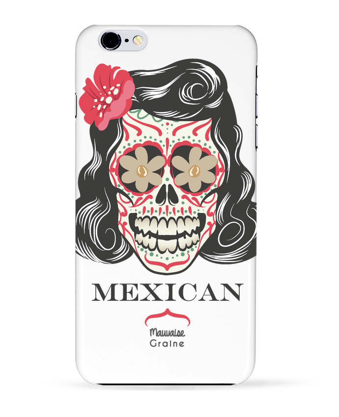 Case 3D iPhone 6+ Mexican crane de Mauvaise Graine