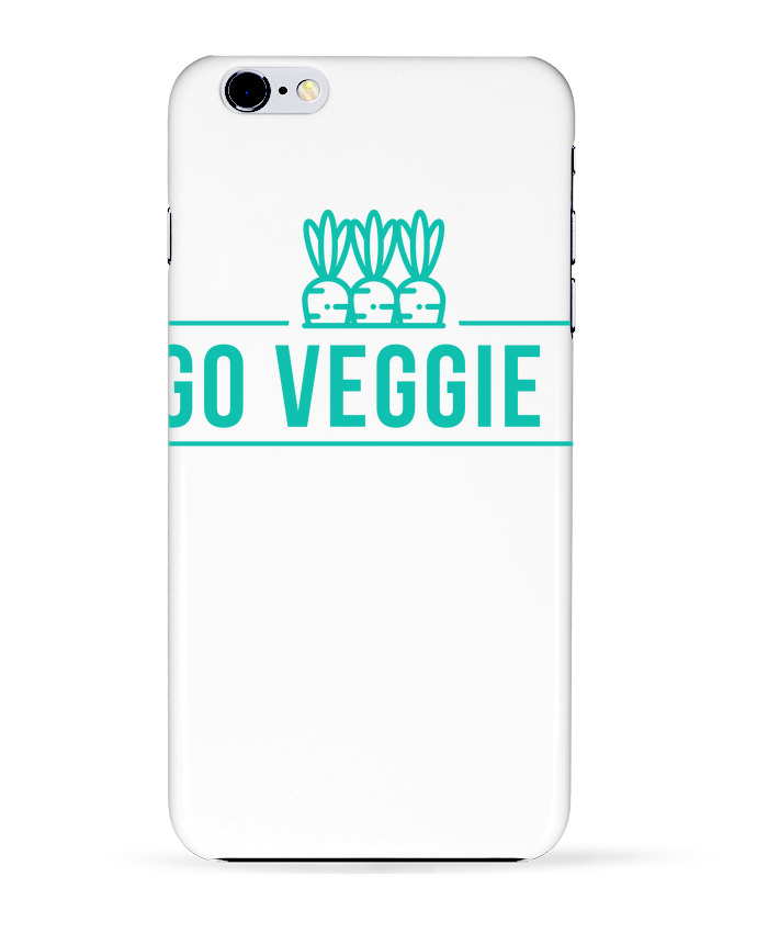 Case 3D iPhone 6+ Go veggie ! de Folie douce