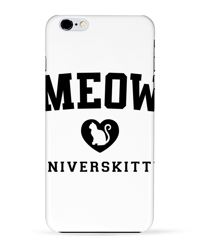 Case 3D iPhone 6+ Meow Universkitty de Freeyourshirt.com