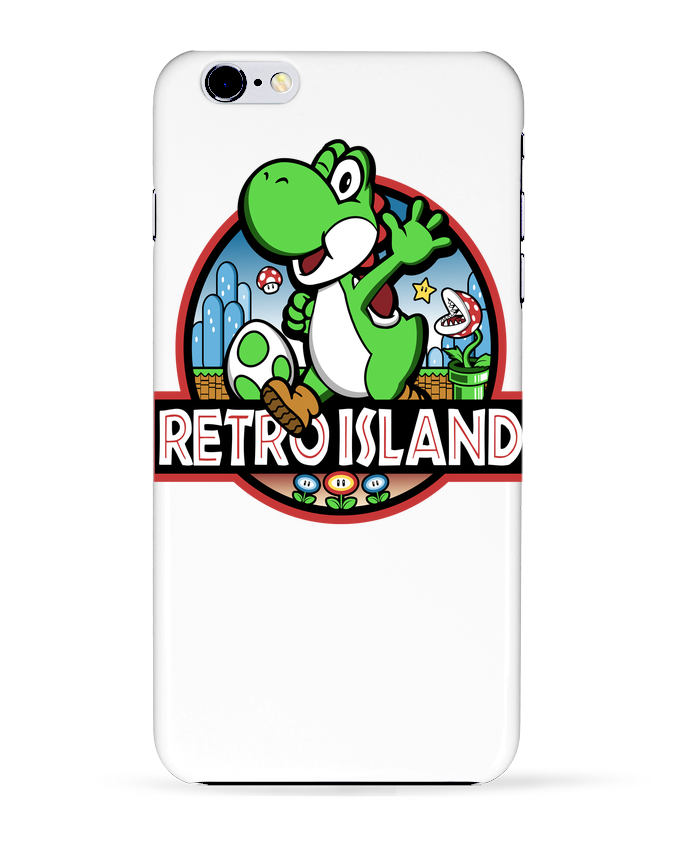 Case 3D iPhone 6+ Retro Park de Kempo24