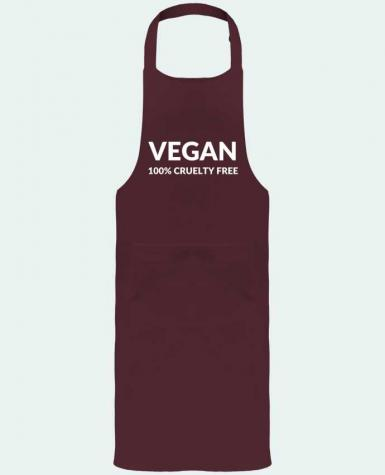 Garden or Sommelier Apron with Pocket Vegan 100% cruelty free by Bichette