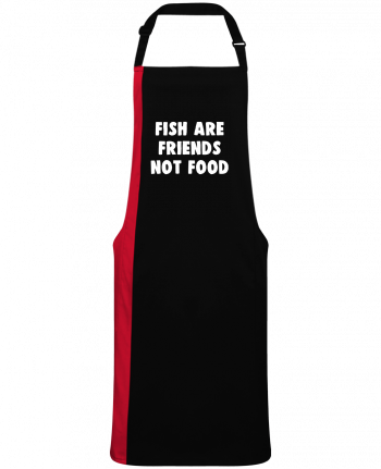 Two-tone long Apron Fish are firends not food by  Bichette