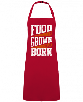 Apron no Pocket Food is grown not born by  Bichette