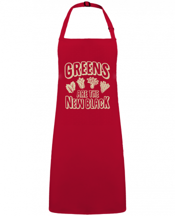 Apron no Pocket Greens are the new black by  Bichette