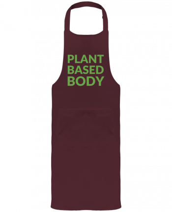 Garden or Sommelier Apron with Pocket Plant based body by Bichette