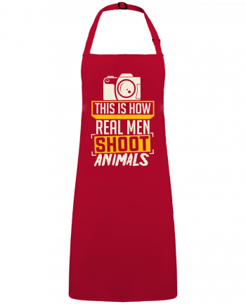 Apron no Pocket This is how real men shoot animals by  Bichette