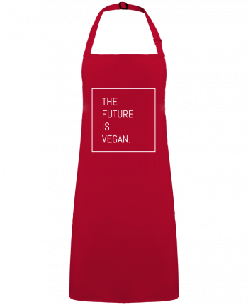Apron no Pocket The future is vegan. by  Bichette