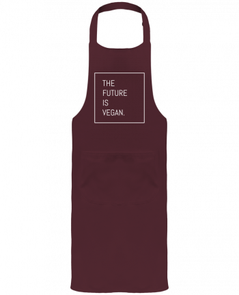 Garden or Sommelier Apron with Pocket The future is vegan. by Bichette