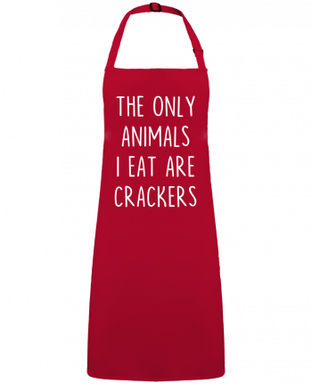 Apron no Pocket The only animals I eat are crackers by  Bichette