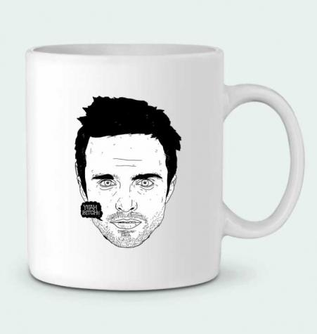 Ceramic Mug Jesse Pinkman by Nick cocozza