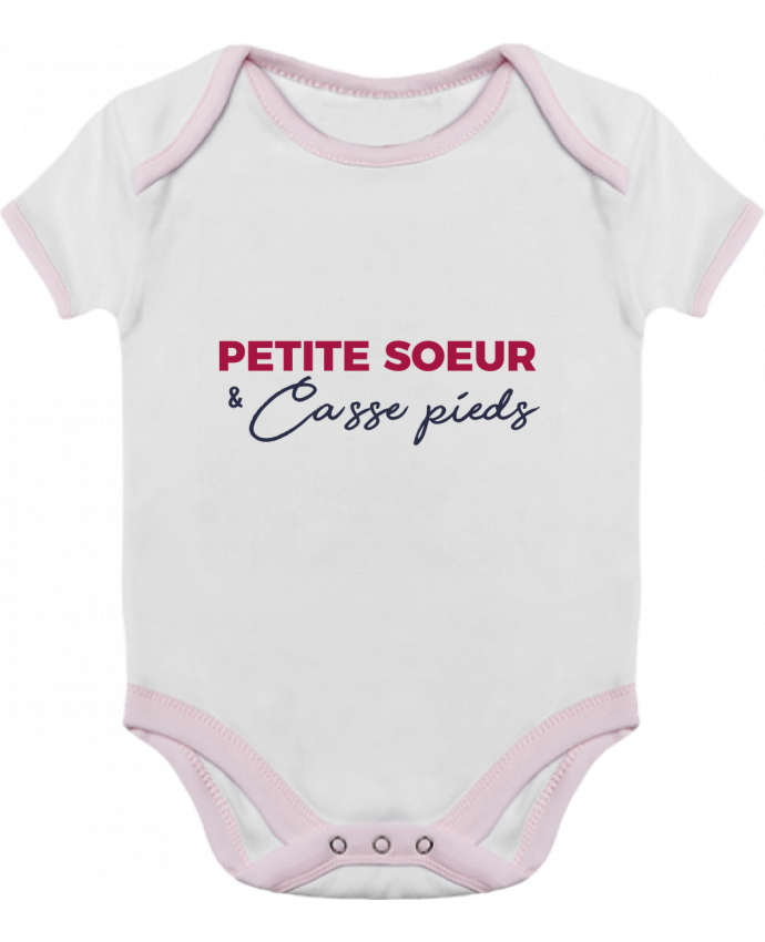 Baby Body Contrast Petite sœur et casse pieds by tunetoo