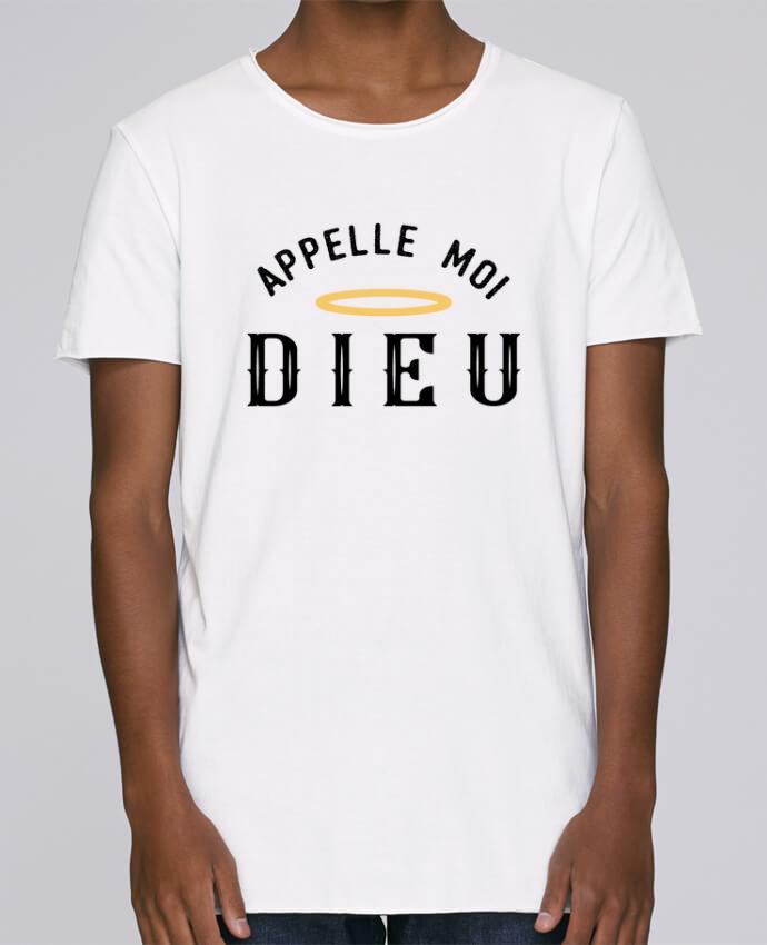 T-shirt Men Oversized Stanley Skates Appelle moi dieu by tunetoo