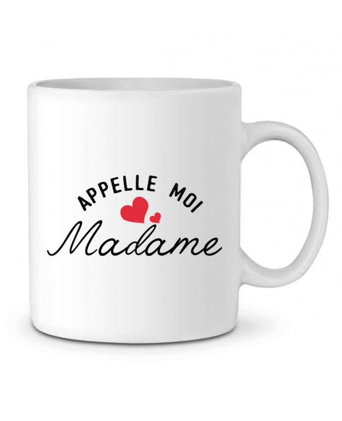 Ceramic Mug Appelle moi madame by tunetoo