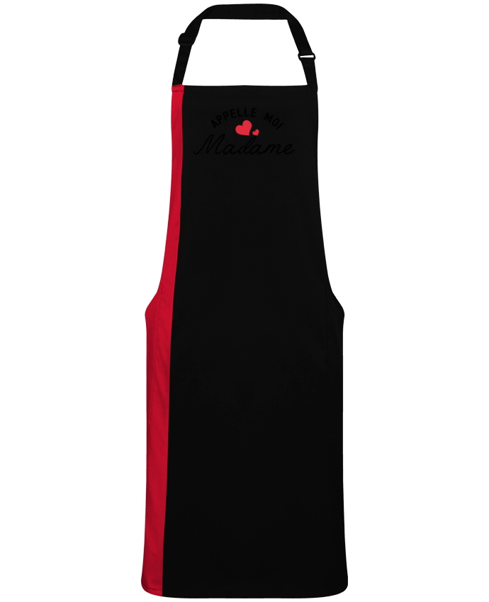 Two-tone long Apron Appelle moi madame by  tunetoo