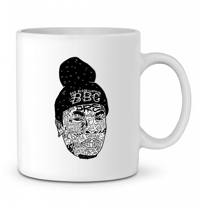 Ceramic Mug Dre by Nick cocozza