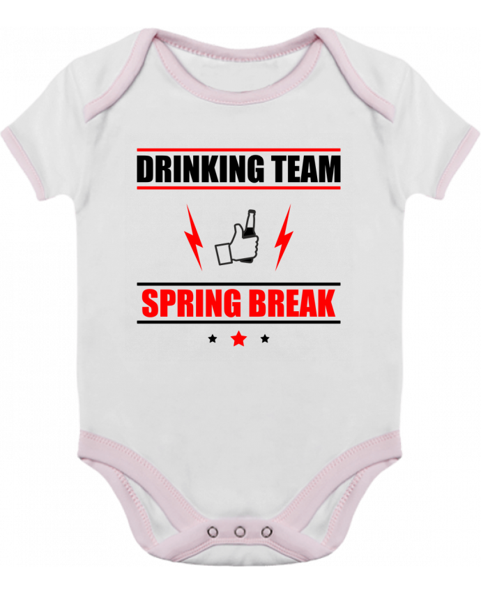 Baby Body Contrast Drinking Team Spring Break by Benichan