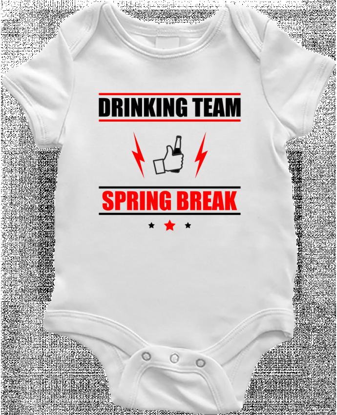 Baby Body Drinking Team Spring Break by Benichan