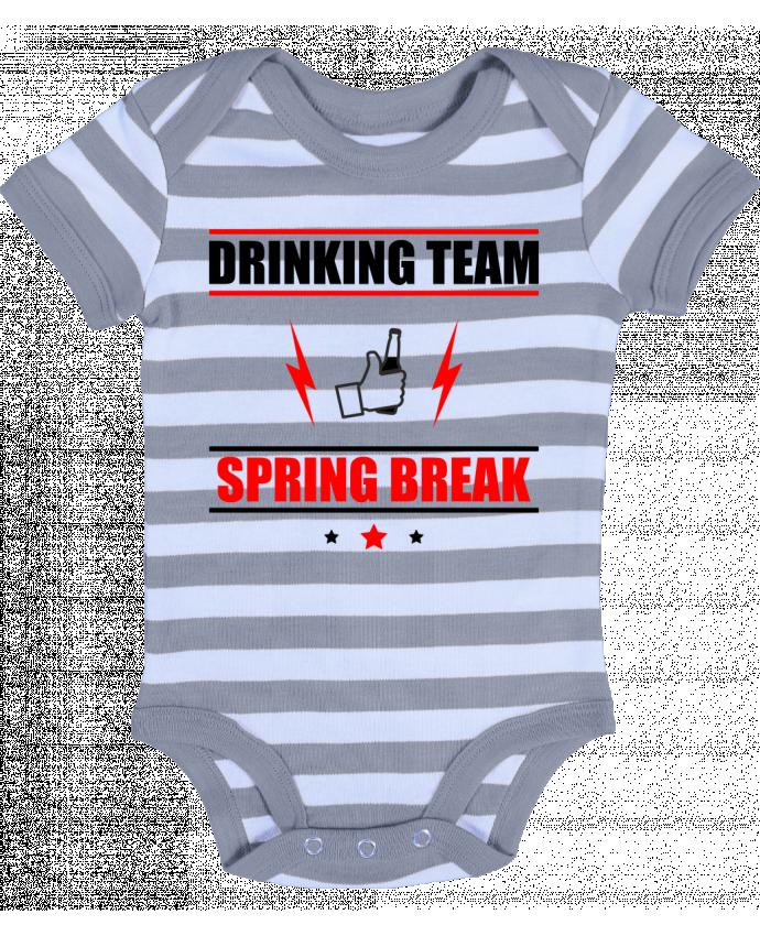 Baby Body striped Drinking Team Spring Break - Benichan