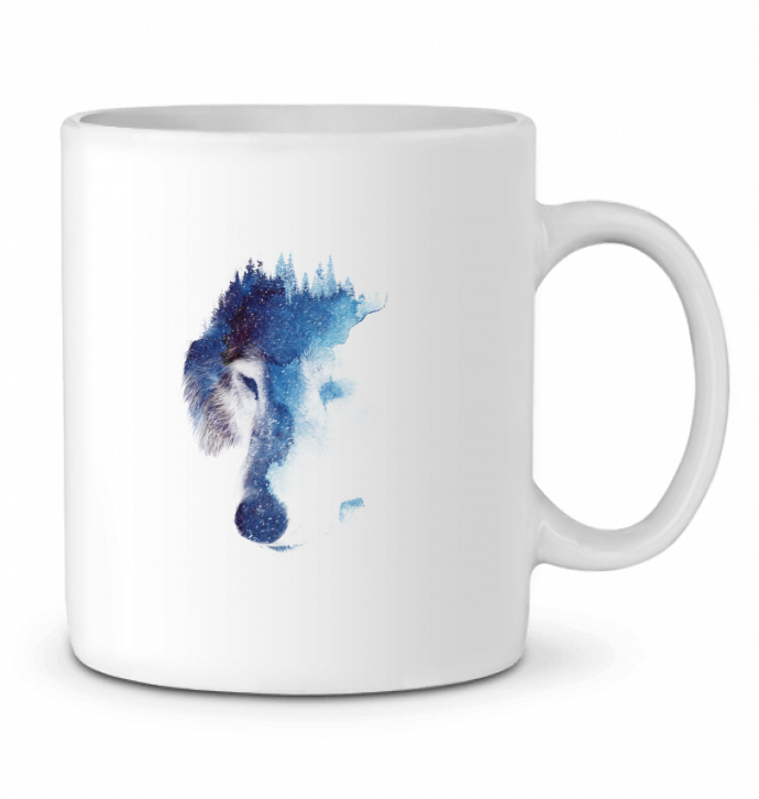 Ceramic Mug Through many storms by robertfarkas