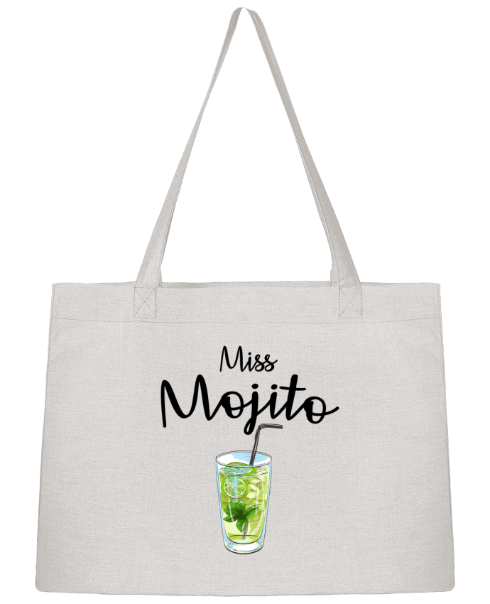 Shopping tote bag Stanley Stella Miss Mojito by FRENCHUP-MAYO