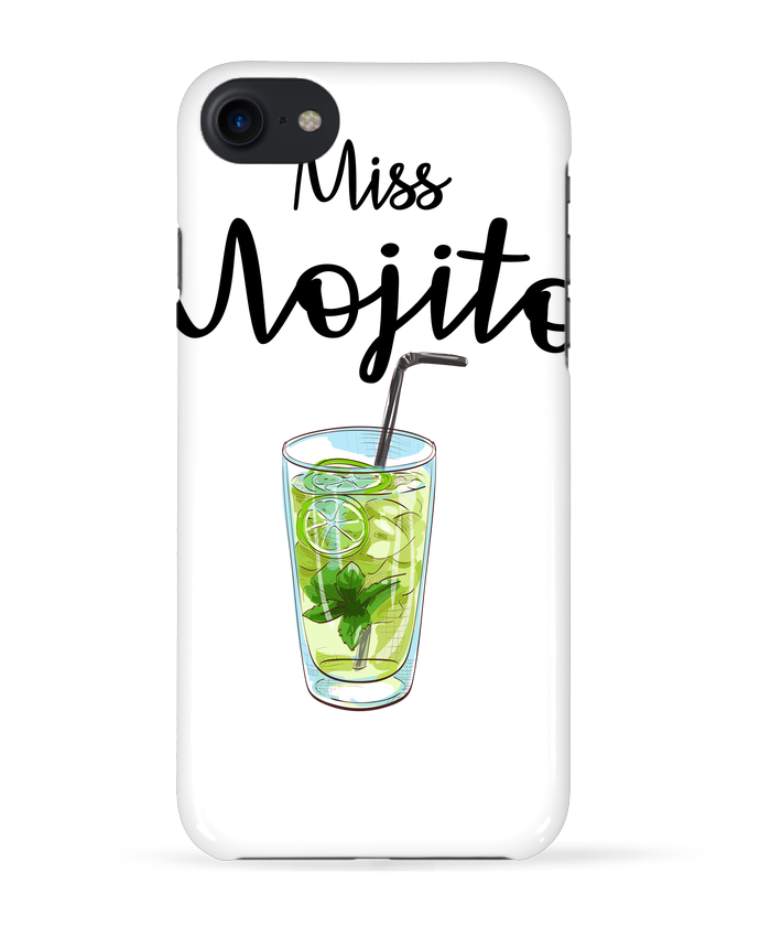Case 3D iPhone 7 Miss Mojito de FRENCHUP-MAYO
