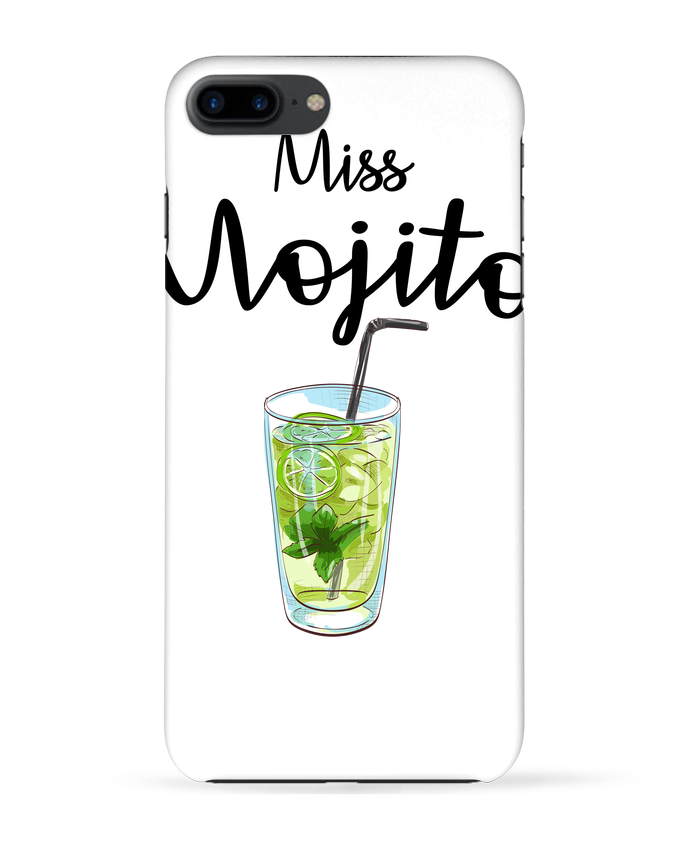 Case 3D iPhone 7+ Miss Mojito by FRENCHUP-MAYO