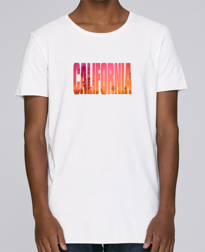 T-shirt Men Oversized Stanley Skates California by justsayin