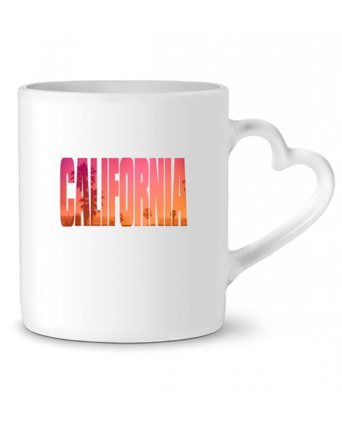 Mug Heart California by justsayin