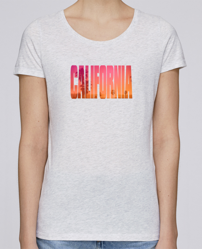 T-shirt Women Stella Loves California by justsayin