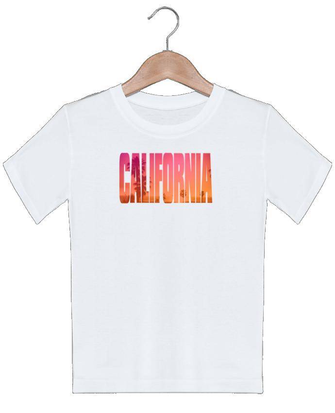 T-shirt garçon motif California justsayin