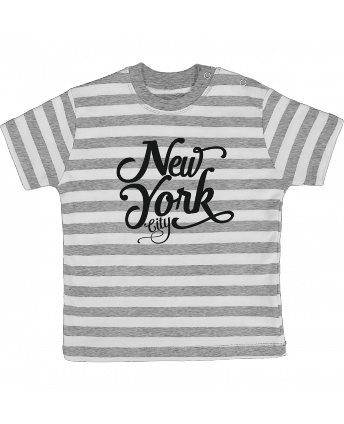 T-shirt baby with stripes New York City by justsayin