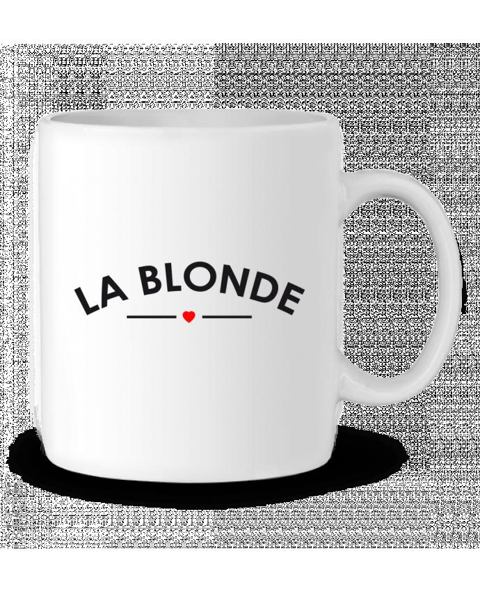 Ceramic Mug La Blonde by FRENCHUP-MAYO