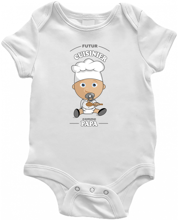 Baby Body Futur cuisinier comme papa by GraphiCK-Kids