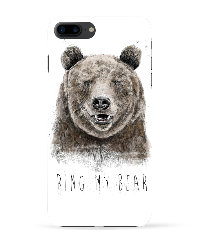 Case 3D iPhone 7+ Ring my bear by Balàzs Solti