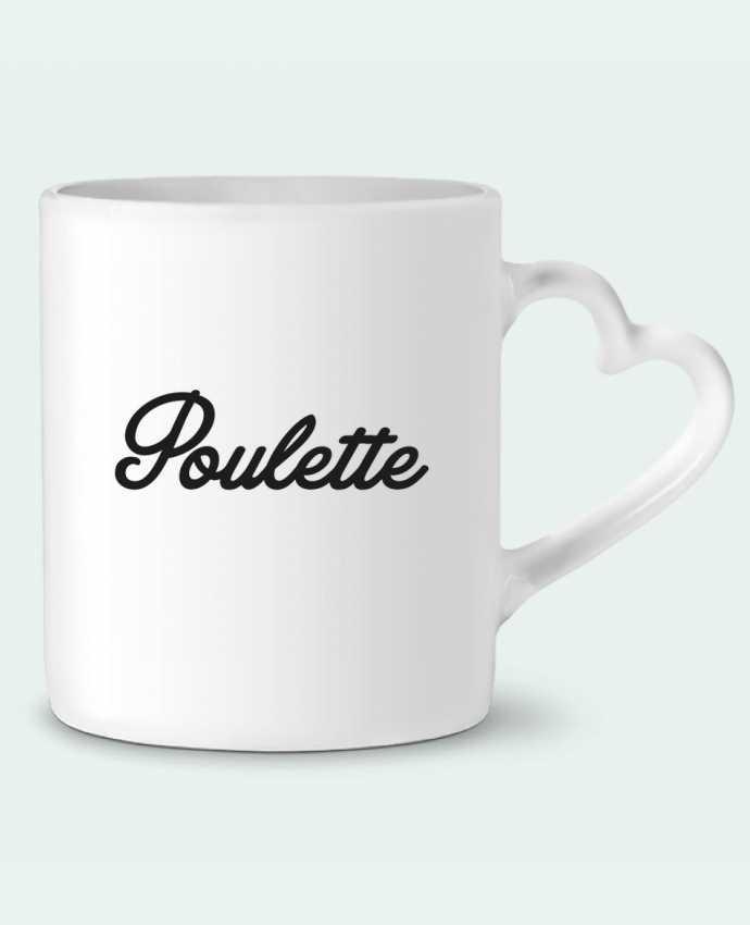 Mug Heart Poulette by Nana