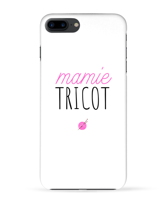 Case 3D iPhone 7+ Mamie tricot by tunetoo