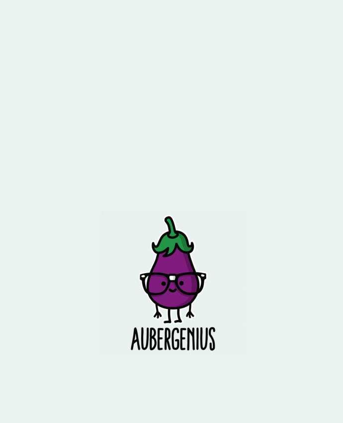 Tote Bag cotton Aubergenius by LaundryFactory