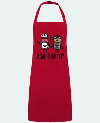 Apron no Pocket A salt and battery by  LaundryFactory
