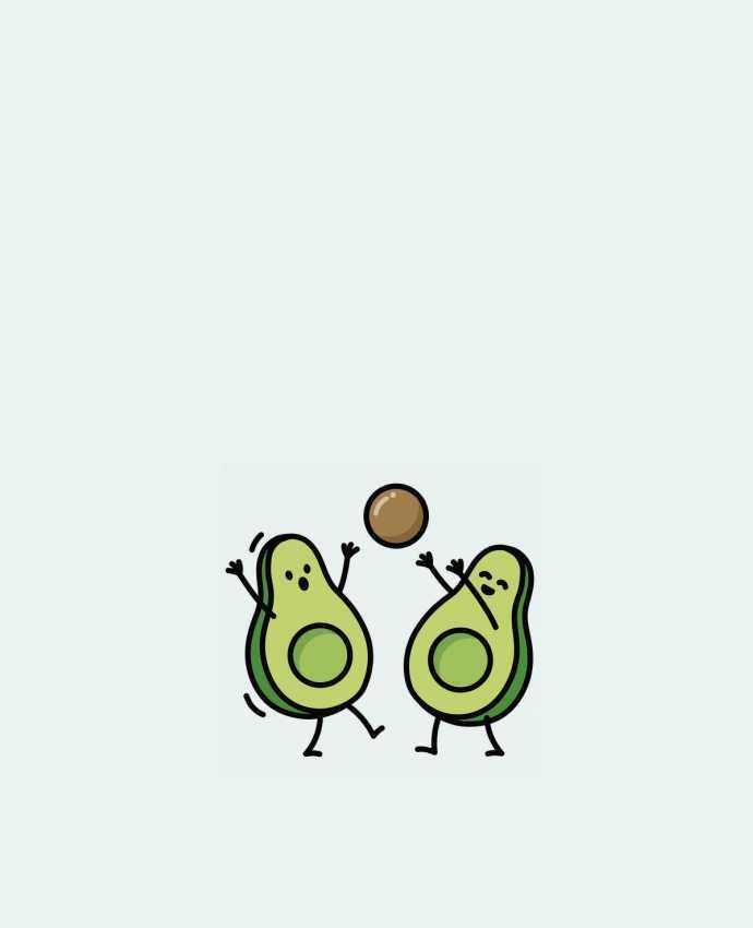 Tote Bag cotton Avocado handball by LaundryFactory