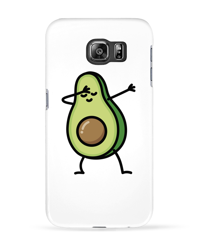 Case 3D Samsung Galaxy S6 Avocado dab - LaundryFactory