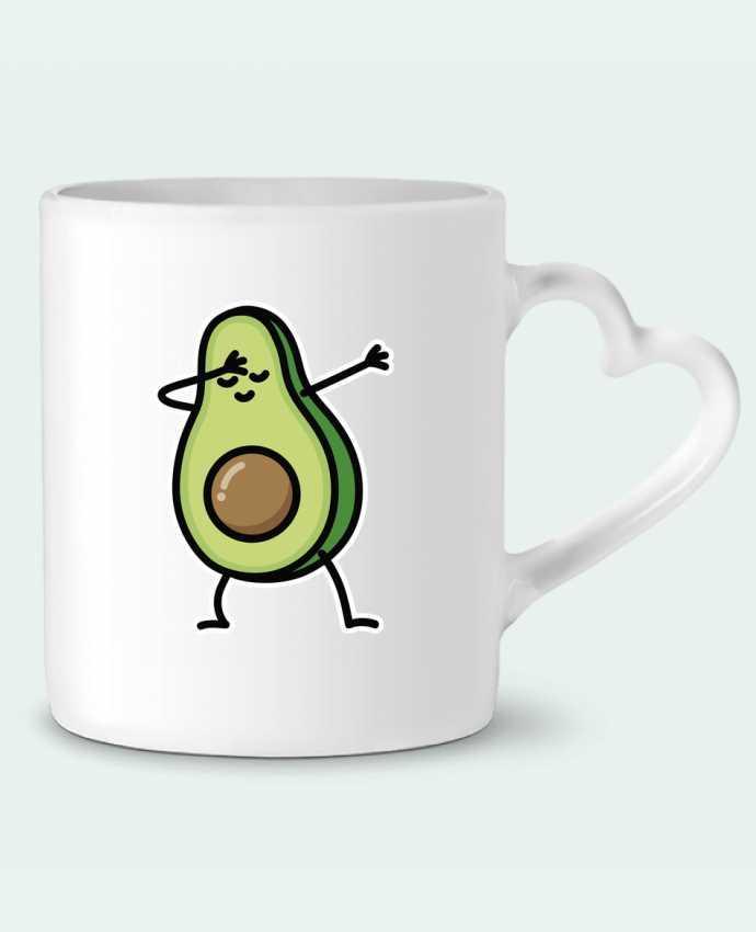 Mug Heart Avocado dab by LaundryFactory