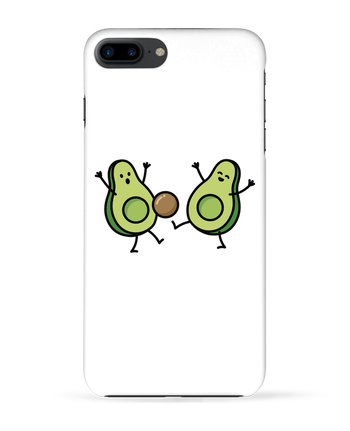 Case 3D iPhone 7+ Avocado soccer by LaundryFactory
