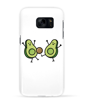 Case 3D Samsung Galaxy S7 Avocado soccer by LaundryFactory