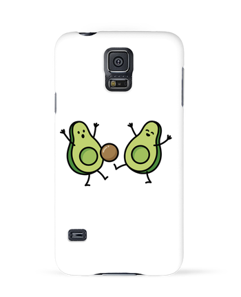 Case 3D Samsung Galaxy S5 Avocado soccer by LaundryFactory
