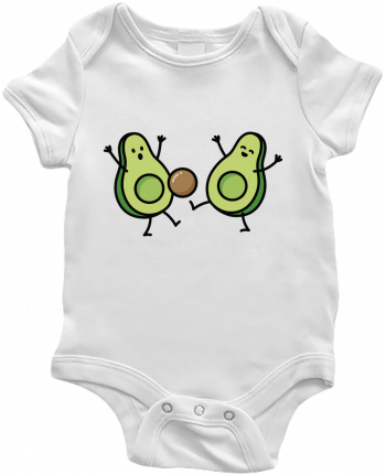 Baby Body Avocado soccer by LaundryFactory