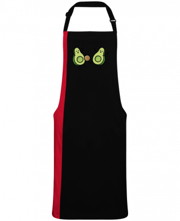 Two-tone long Apron Avocado soccer by  LaundryFactory
